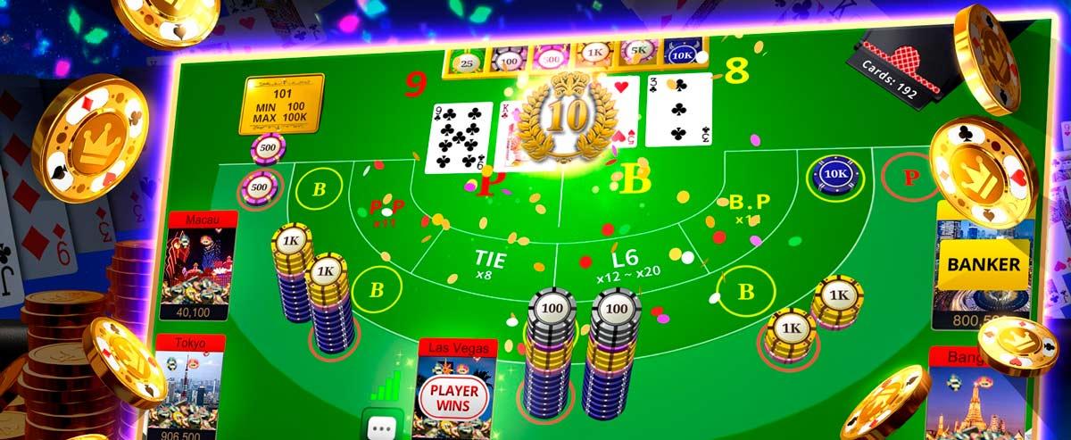 Online Bakkarat Spiel